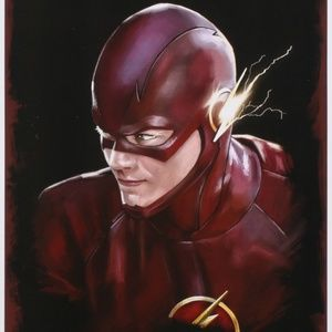 """Other - Tony Santiago""""The Flash"""" 13 x 19 Signed Lithograph"""